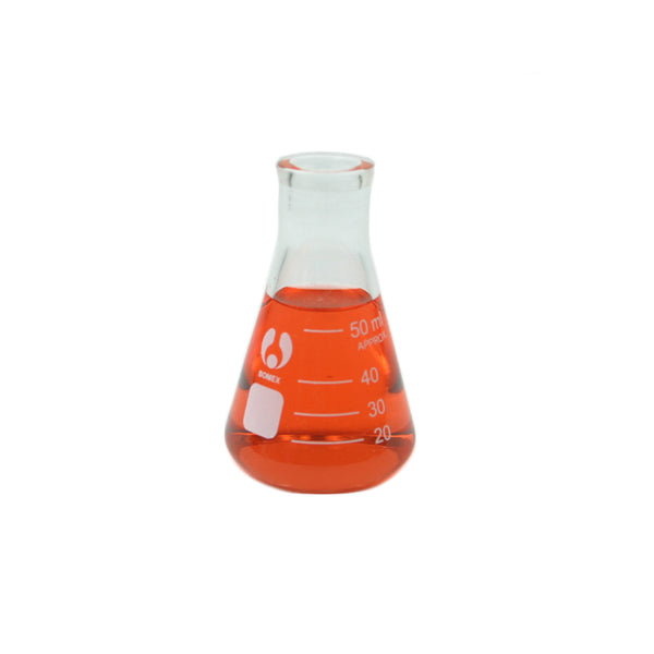 50 mL Erlenmeyer Flask - Avogadro's Lab Supply