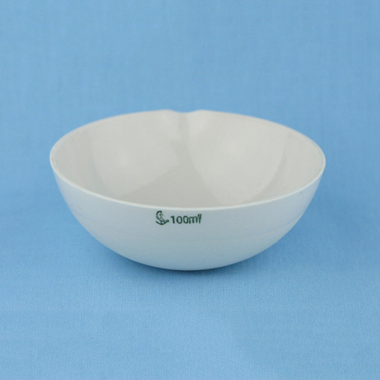 100 mL Porcelain Evaporation Dish - Avogadro's Lab Supply