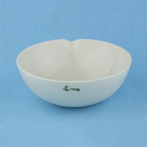 125 mL Porcelain Evaporation Dish - Avogadro's Lab Supply
