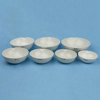 Porcelain Evaporation Dish Set (6 pcs) - Avogadro's Lab Supply