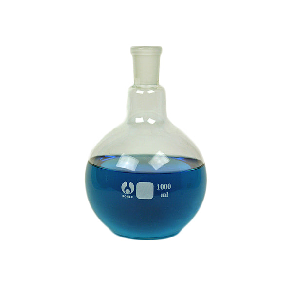 24/40 Flat Bottom Flask 1000 mL - Avogadro's Lab Supply