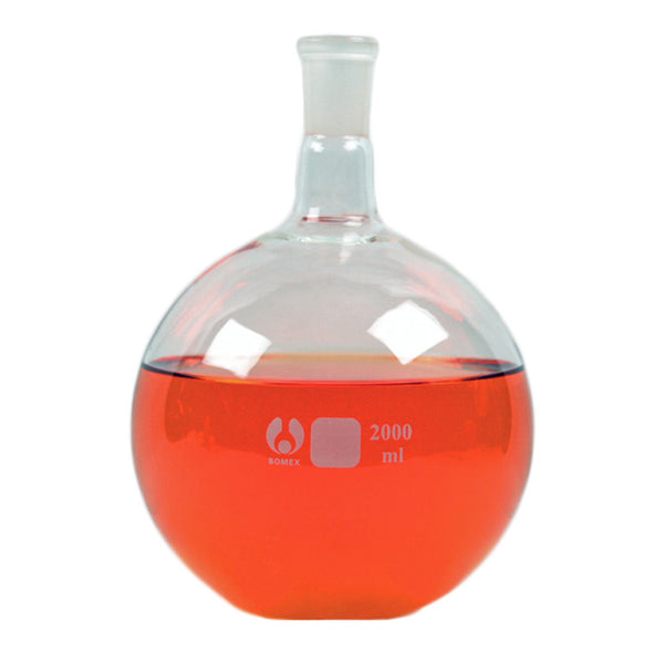 24/40 Flat Bottom Flask 2000 mL - Avogadro's Lab Supply
