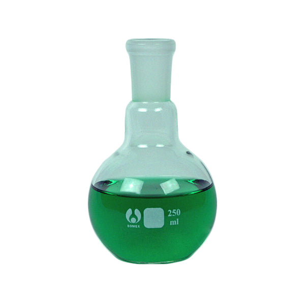 24/40 Flat Bottom Flask 250 mL - Avogadro's Lab Supply
