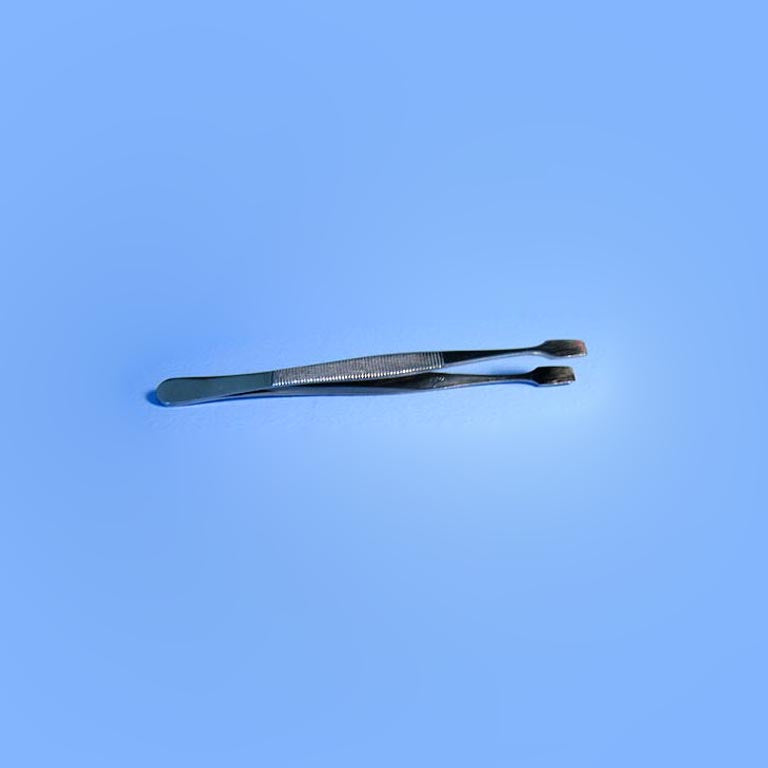 Filter Forceps Stainless Steel - Avogadro's Lab Supply