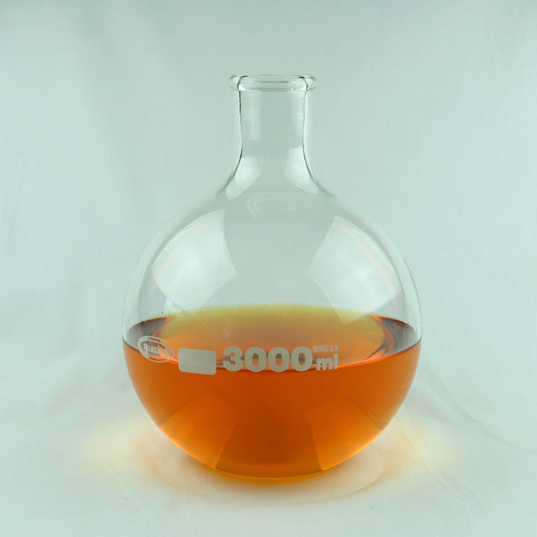 Florence Flat Bottom Flask 3000 mL - Avogadro's Lab Supply