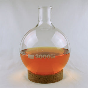 Florence Round Bottom Flask 3000 mL - Avogadro's Lab Supply