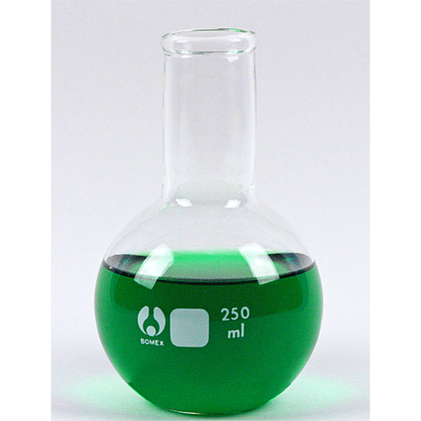Florence Flat Bottom Flask 250 mL - Avogadro's Lab Supply