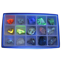 Fluorescent Mineral Collection - Avogadro's Lab Supply