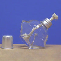 Octagonal Glass Alcohol Lamp / Burner - Avogadro's Lab Supply