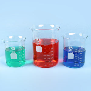 Griffin Beaker Set 800 - 2000 mL - Avogadro's Lab Supply