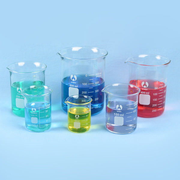 Griffin Beaker Set 50 - 600 mL - Avogadro's Lab Supply