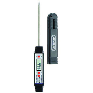 "Digital Pocket 5"" Probe Thermometer -40 to 302 F - Avogadro's Lab Supply"