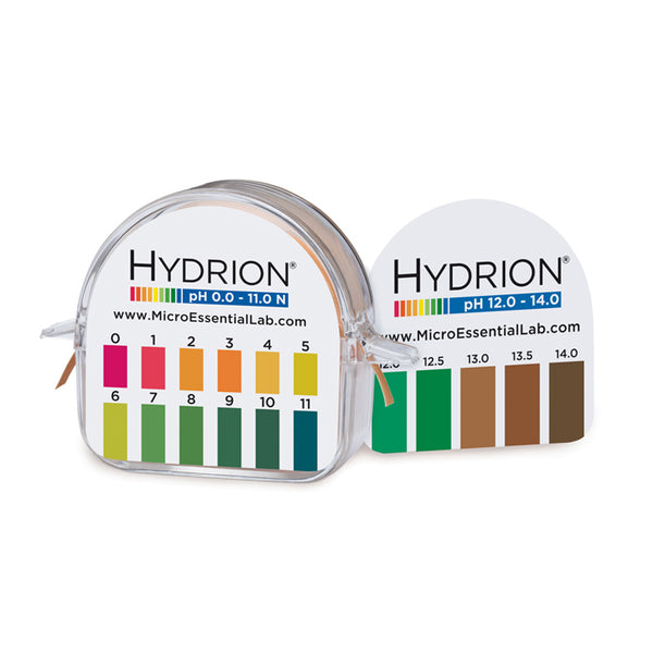 Hydrion Mikro M1000 pH 0-11 & 12-14 (1 / 0.5 pH Increments) - Avogadro's Lab Supply