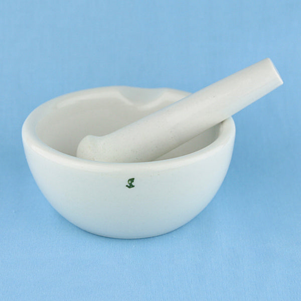 Porcelain Mortar and Pestle 5