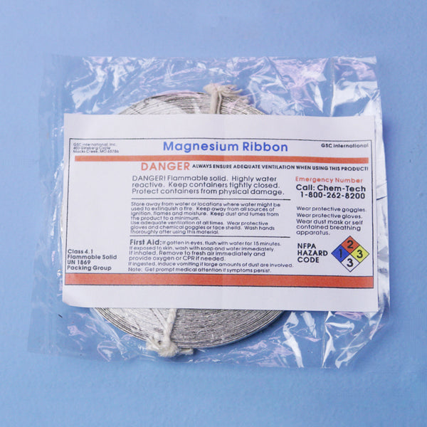 Magnesium Ribbon - Avogadro's Lab Supply