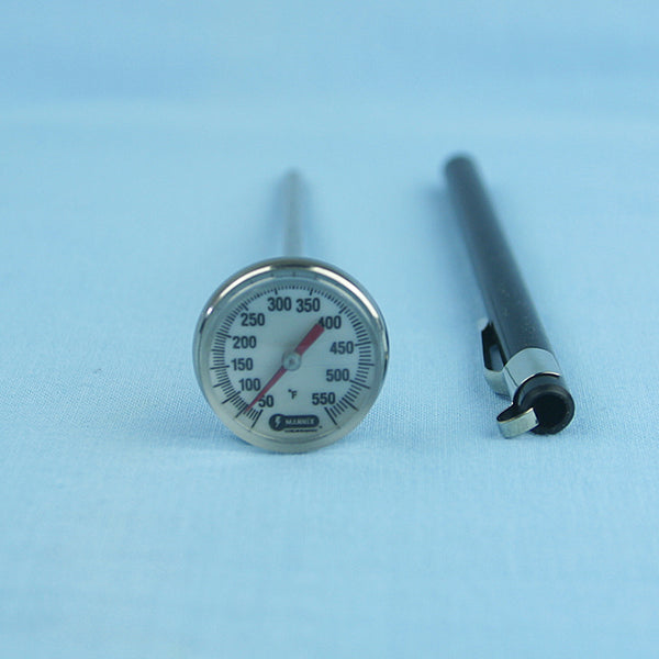 Magnified Dial Thermometer 50 to 550 F w/ 5
