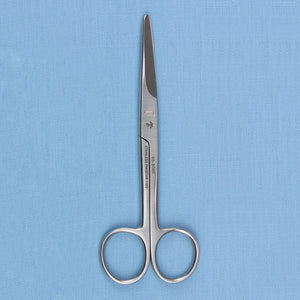 "Mayo Scissors 5.5"" Straight Satin Finish - Avogadro's Lab Supply"