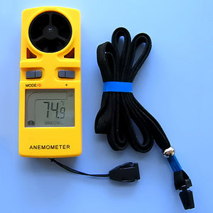 Pocket Sized Digital Anemometer - Avogadro's Lab Supply