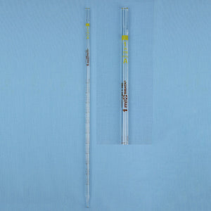 Sibata Mohr Measuring Pipet 1 mL - Avogadro's Lab Supply