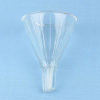 Mooney Air Vent Ribbed Funnel 75 mm - Avogadro's Lab Supply