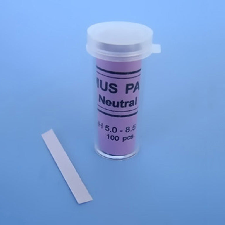 Neutral Litmus Paper pH 5.0 - 8.5 - Avogadro's Lab Supply