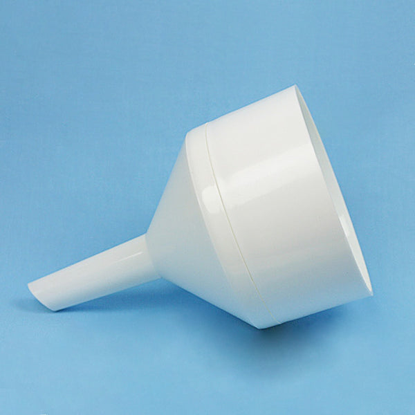 Two Piece Polypropylene Buchner Funnel 130 mm - Avogadro's Lab Supply
