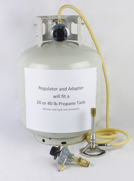 Bunsen Burner Control Valve Regulator for Propane Tank - Avogadro's Lab Supply