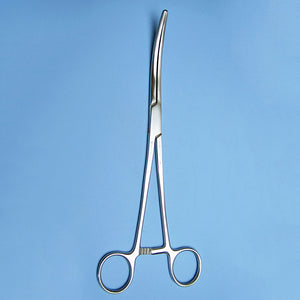 "Rochester Pean Hemostat Forceps 9"" Curved - Avogadro's Lab Supply"