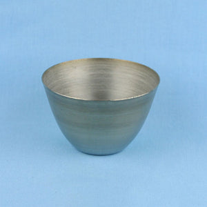 100 mL Stainless Steel Crucible - Avogadro's Lab Supply