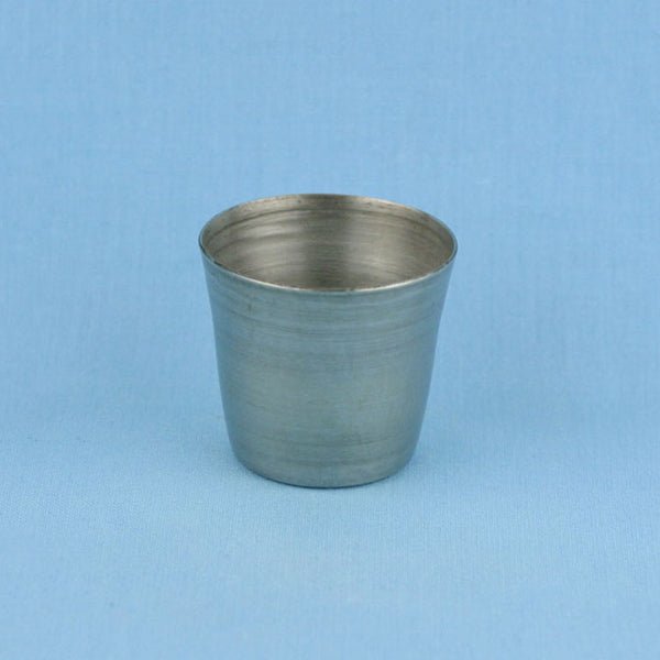 25 mL Stainless Steel Crucible - Avogadro's Lab Supply