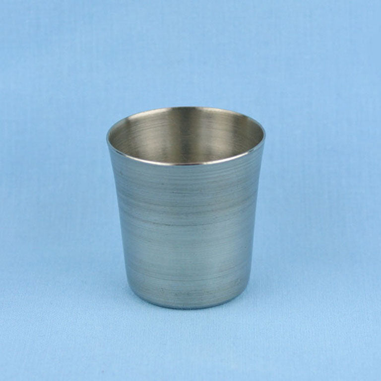 50 mL Stainless Steel Crucible - Avogadro's Lab Supply