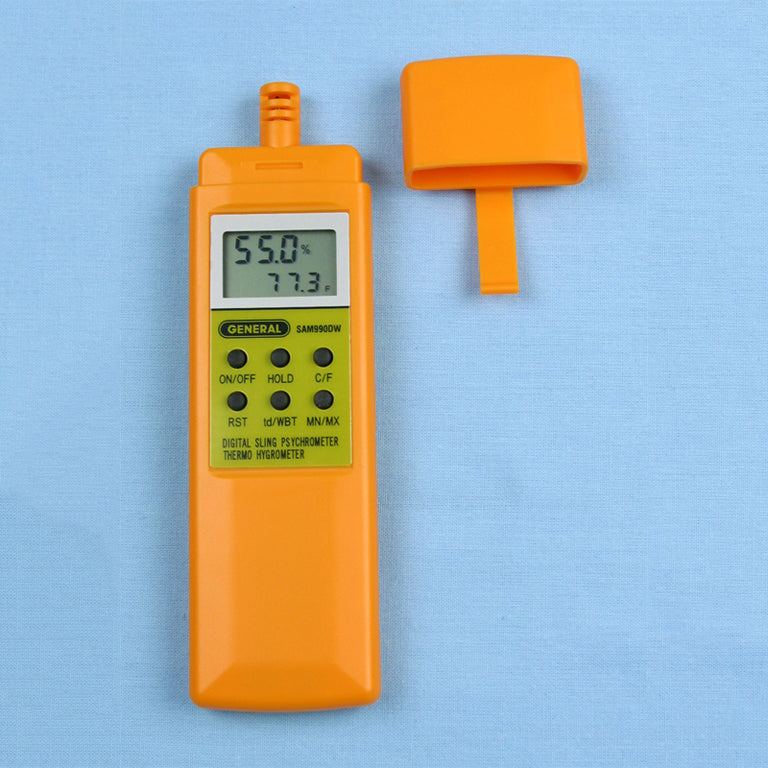 Digital Psychrometer with Dew Point and Wet Bulb