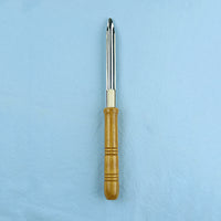 Scoopula with Beech Wood Handle - Avogadro's Lab Supply