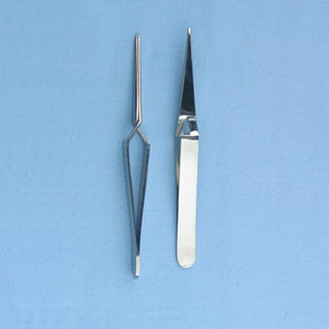 Self Closing Forceps Stainless Steel - Avogadro's Lab Supply