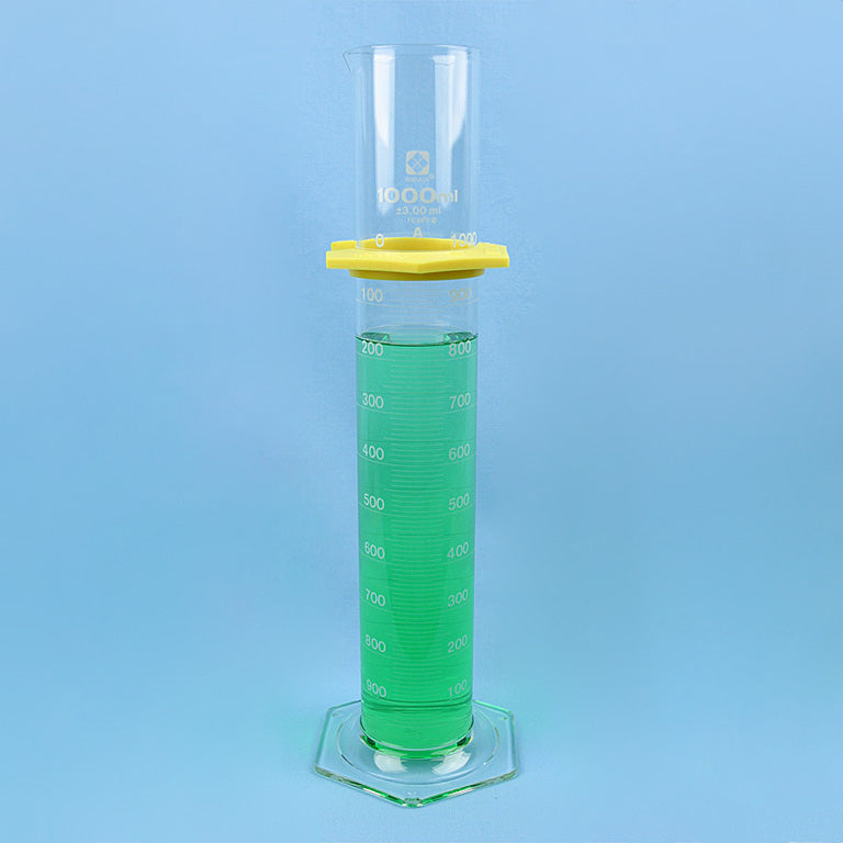 Sibata Class A Graduated Cylinder 1000 mL - Avogadro's Lab Supply