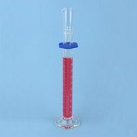 Sibata Class A Graduated Cylinder 25 mL - Avogadro's Lab Supply