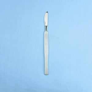 "1.5"" One Piece Scalpel Stainless Steel - Avogadro's Lab Supply"