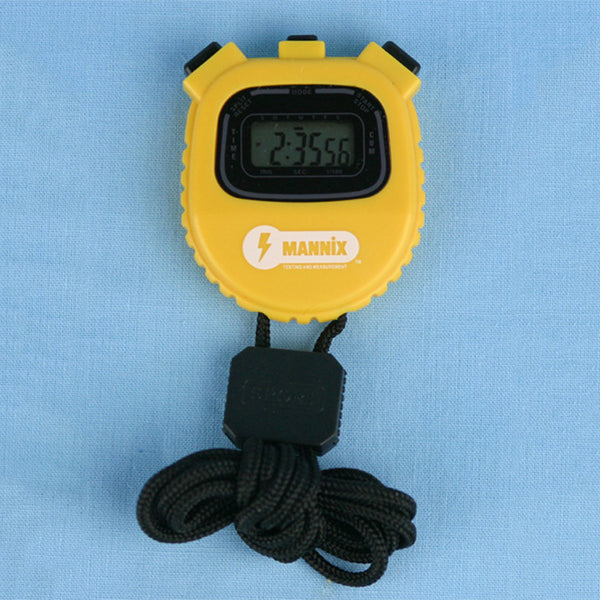 Multi Function Digital Stopwatch Ylw - Avogadro's Lab Supply