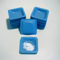 "Blue Weigh Boats Small 1.8 X 1.8"" - Avogadro's Lab Supply"
