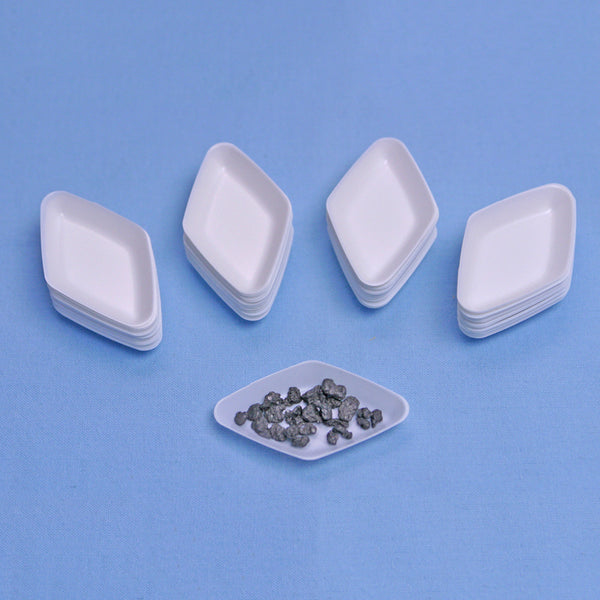 White Diamond Antistatic Weigh Boats 5 mL