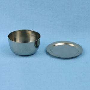 25 mL Zirconium Crucible with a Cover - Avogadro's Lab Supply