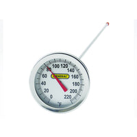 "2"" Dial Thermometer 0 to 220 F w/ 20"" Stem - Avogadro's Lab Supply"