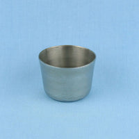 15 mL Stainless Steel Crucible - Avogadro's Lab Supply