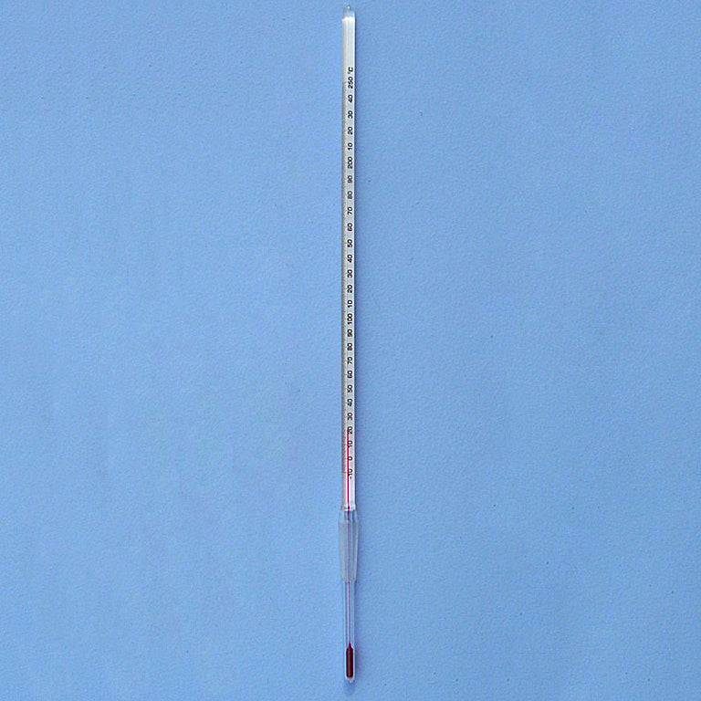 High Precision 10/30 Spirit Thermometer -20 to 250 °C - Avogadro's Lab Supply