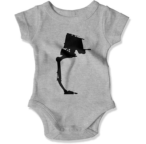 AT-ST Baby Bodysuit - GiddyBees