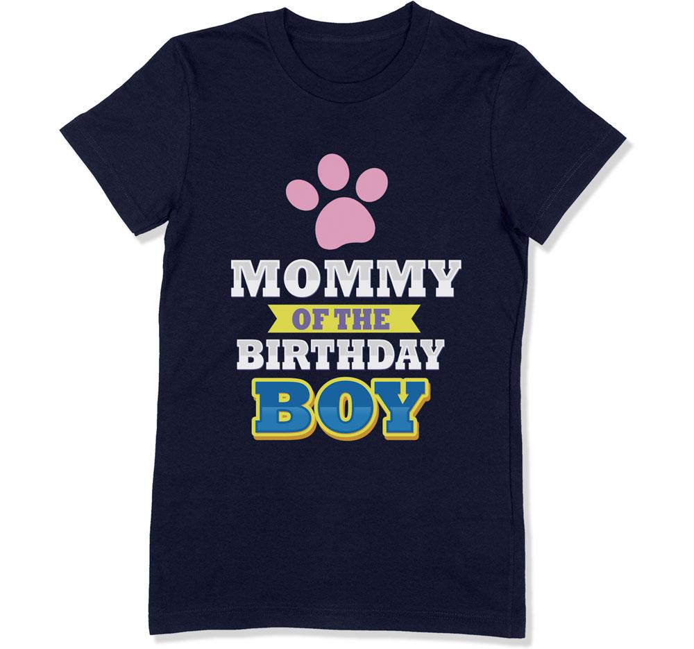 Mommy of the Birthday Boy T-Shirt - BTH-143 - GiddyBees