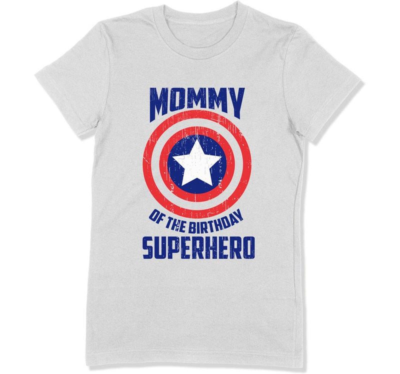 Mommy of the Birthday Superhero T-Shirt - BTH-202 - GiddyBees
