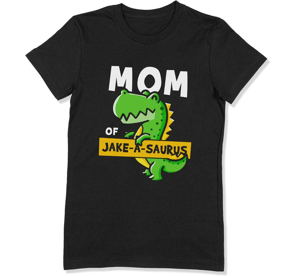 Mom of (Custom)-A-Saurus T-Shirt - DAT-3109 - GiddyBees