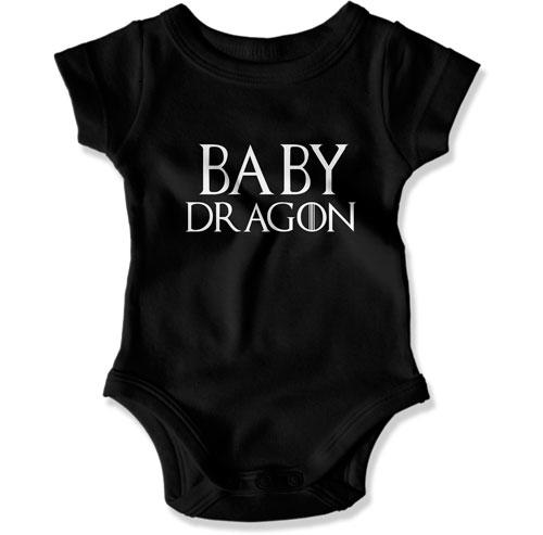 Baby Dragon Baby Bodysuit - FAT-811 - GiddyBees