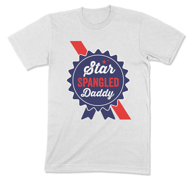 Star Spangled Daddy T-Shirt - FOJ-05 - GiddyBees